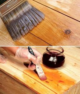 Как нанести на дерево в домашних условиях